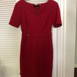 Tory Burch red dress .. perfect for any occasion!!